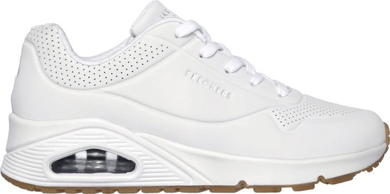Skechers Uno Stand On Air Dames Sneakers - White - Maat 40