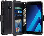 Cyclone Cover wallet case hoesje Samsung Galaxy A3 2017 zwart