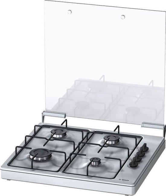 Bosch PBP0C5Y80N -Serie 2- Gaskookplaat - Zilver