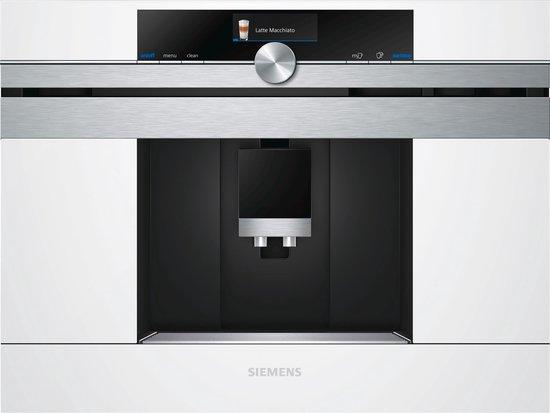 Siemens CT636LEW1 Inbouw Volautomaat Espressomachine - Wit