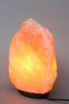 Himalaya zoutlamp - 4-5 kg zoutkristal lamp met LED lamp