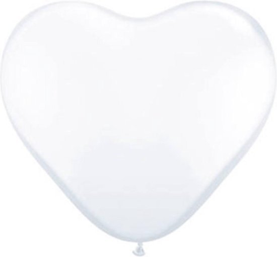 11In Heart White Std/100