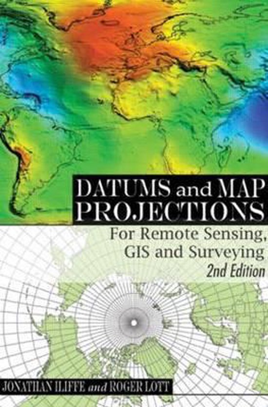 Boek cover Datums and Map Projections van Jonathan Iiiffe (Paperback)