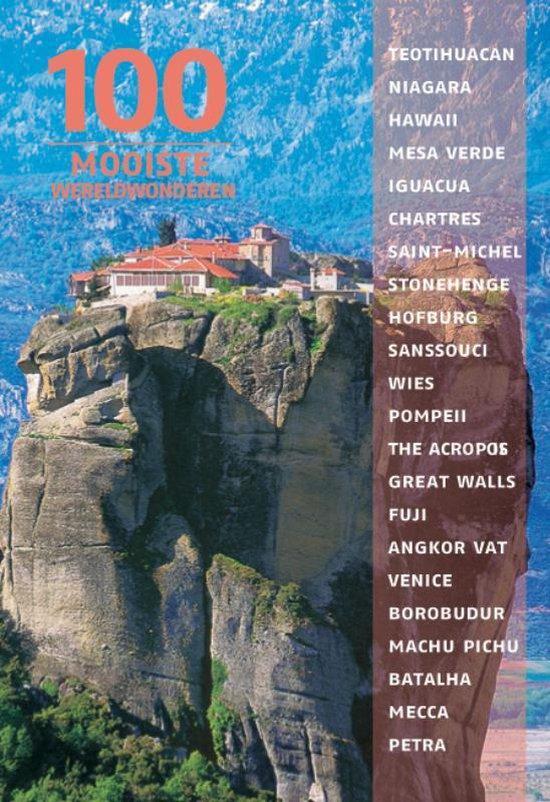 Cover van het boek '100 Wereldwonderen' van Winfried Maass
