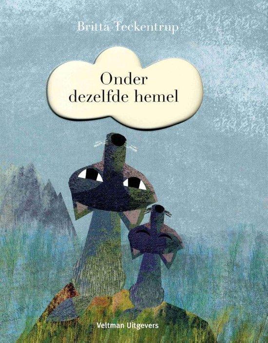 Boek cover Onder dezelfde hemel van Britta Teckentrup
