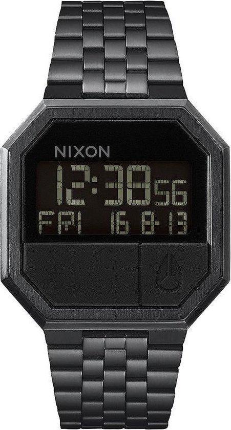 Nixon A158001 Re-Run all black - Horloge - 38mm - Zwart