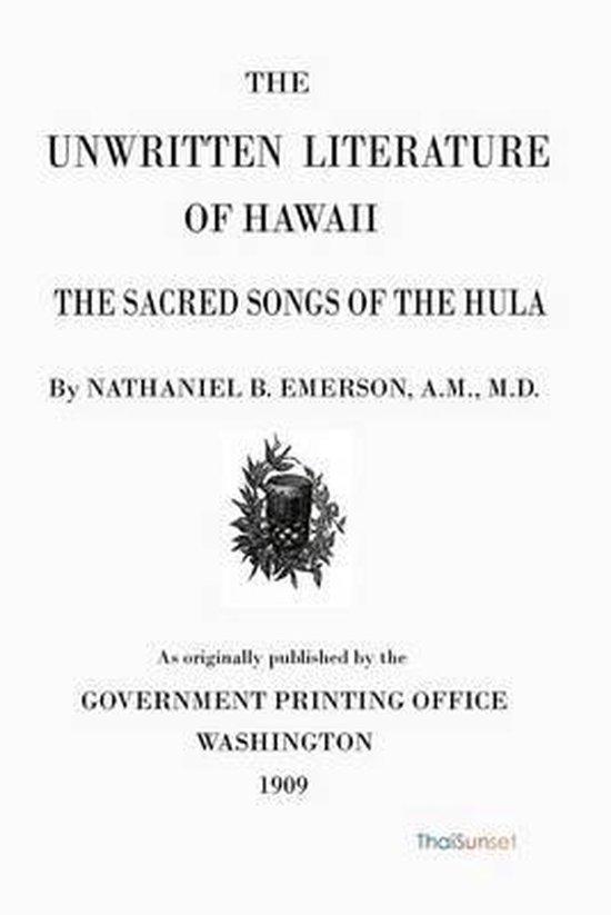 The Unwritten Literature of Hawaii
