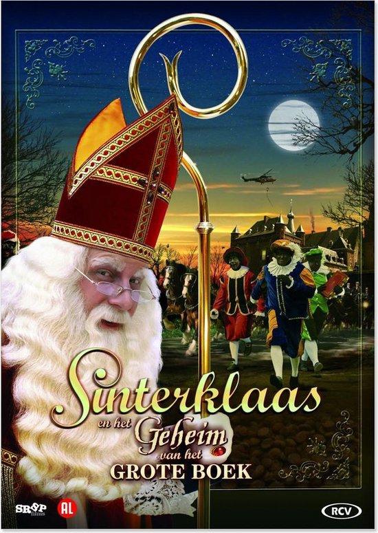 Cover van de film 'Sinterklaas En Het Geheim Van Het Grote Boek'