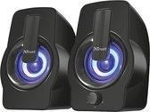Trust Gemi - 2.0 Speakerset - RGB - voor PC & Laptop