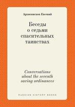 Conversations about the Seventh Saving Ordinances