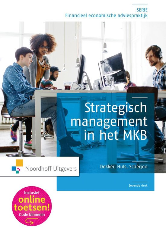 Boek cover Strategisch management in het MKB van H.J. Dekker (Paperback)