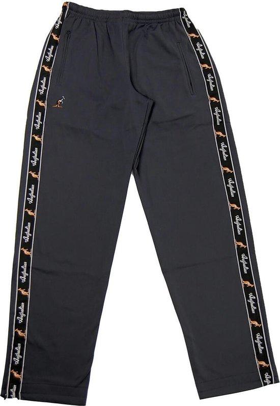 Australian broek met zwarte bies grijs maat XS44