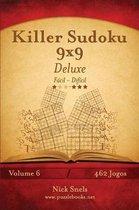 Killer Sudoku 9x9 Deluxe - F cil Ao Dif cil - Volume 6 - 462 Jogos