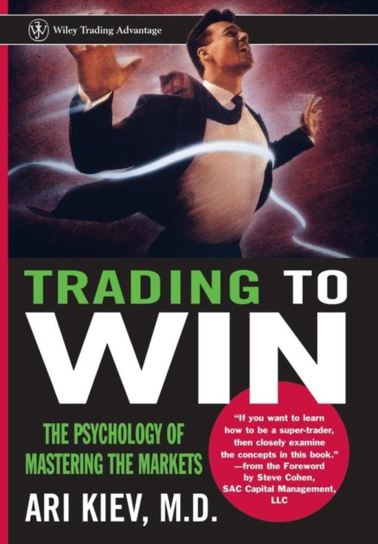 Boek cover Trading to Win van Ari Kiev (Hardcover)