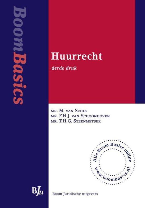 Huurrecht - F.H.J. van Schoonhoven  