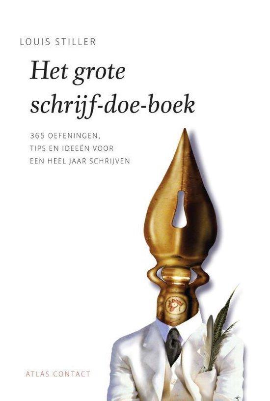 De schrijfbibliotheek - Het grote schrijf-doe-boek - Louis Stiller |