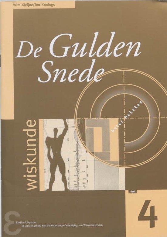 Zebra-reeks 4 - De gulden snede - Wim Kleijne |