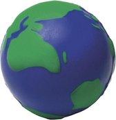 Anti-stressbal wereldbol 6,5 cm - Stressballen - Anti-stress
