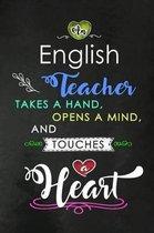 An English Teacher takes a Hand and touches a Heart