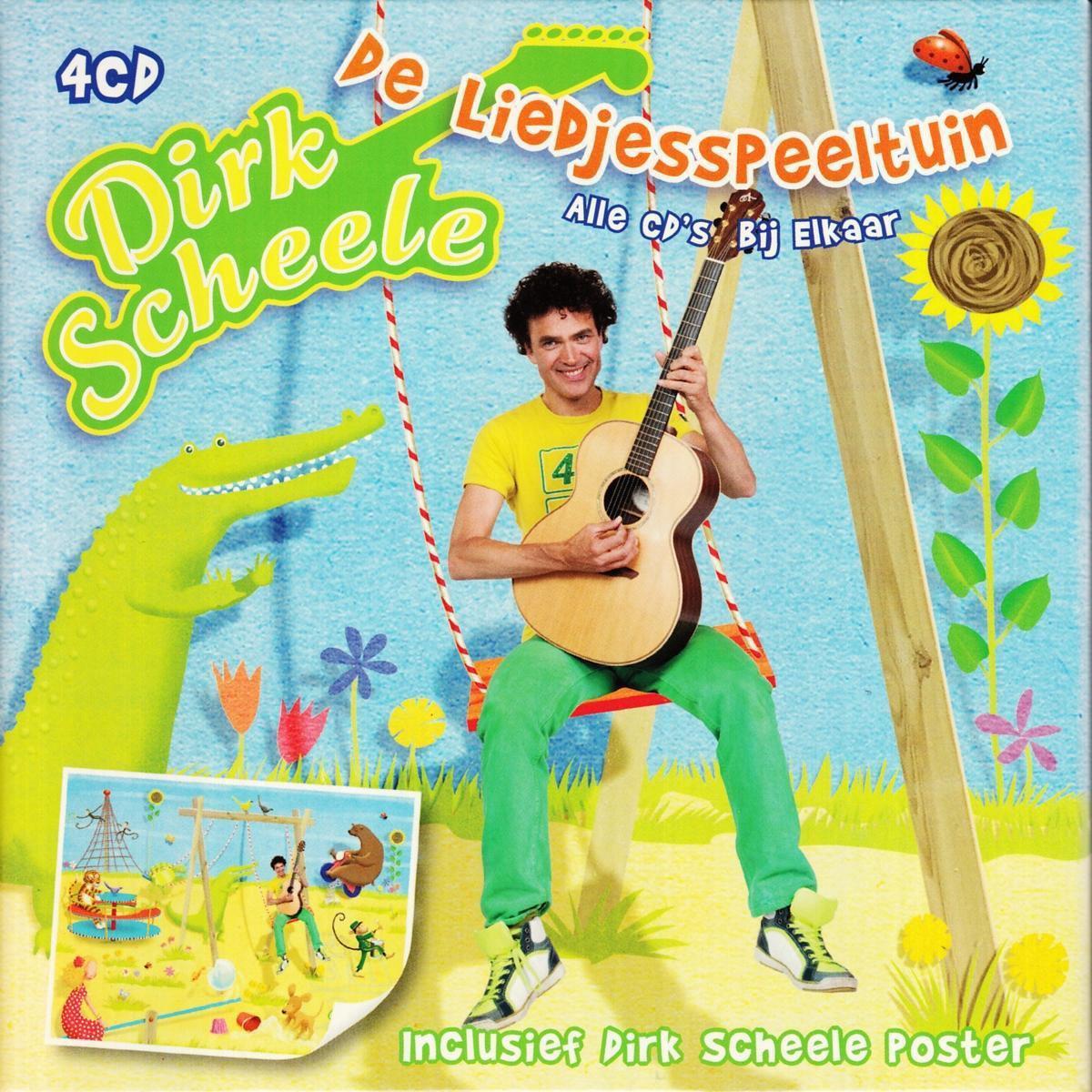 De Liedjesspeeltuin - Alle Liedjes Bij Elkaar - Dirk Scheele