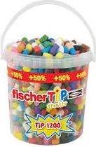 Fisher tip playmais emmer 1200 stuks + 50 % gratis