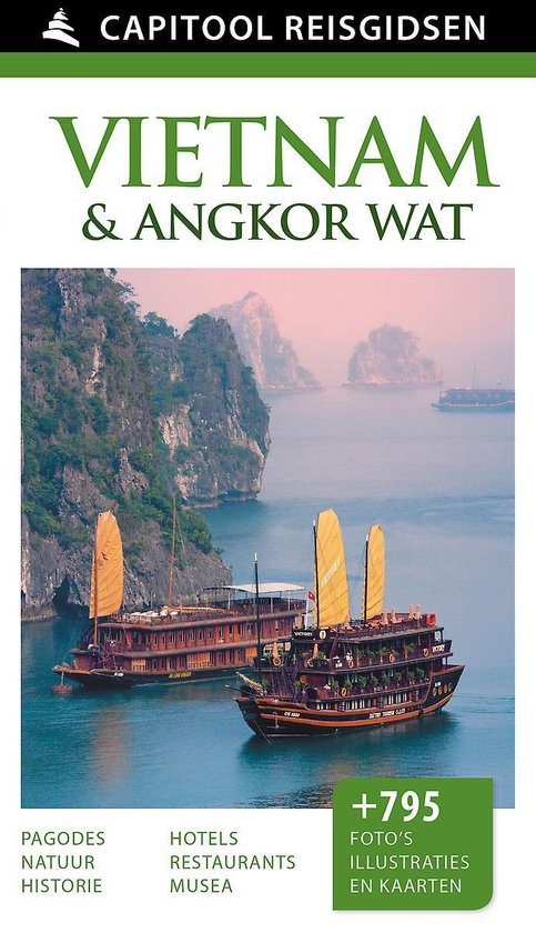Boek cover Capitool reisgids - Vietnam van Capitool