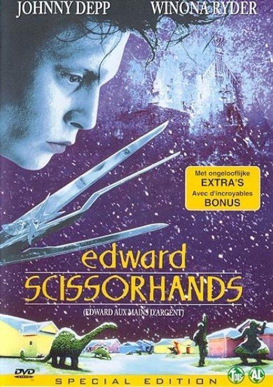 Cover van de film 'Edward Scissorhands'
