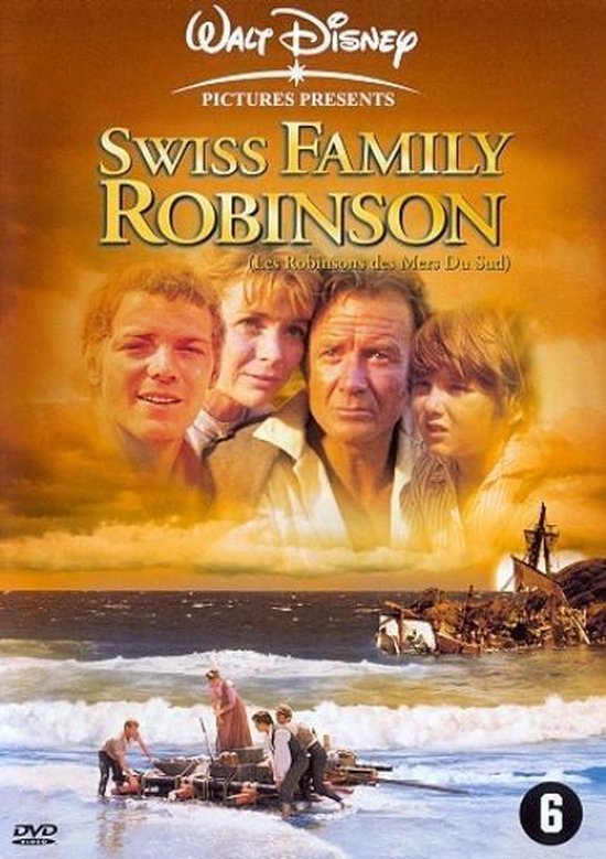 Cover van de film 'Swiss Family Robinson'