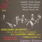 Juilliard Quartet Live At The Loc V