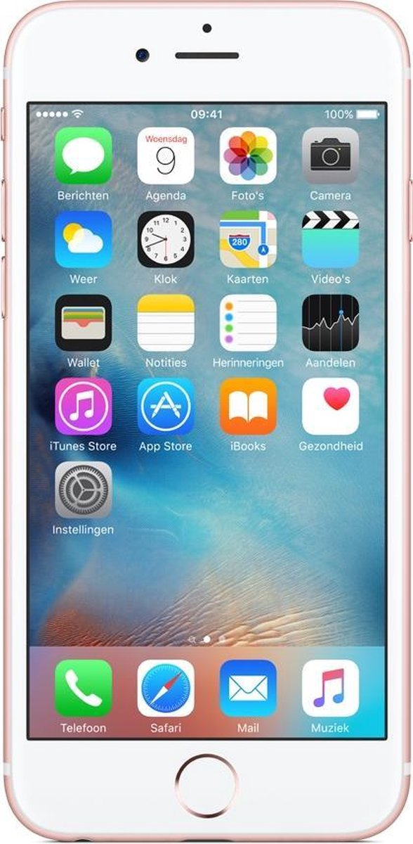 Refurbished Apple iPhone 6S 64GB rose goud - A grade