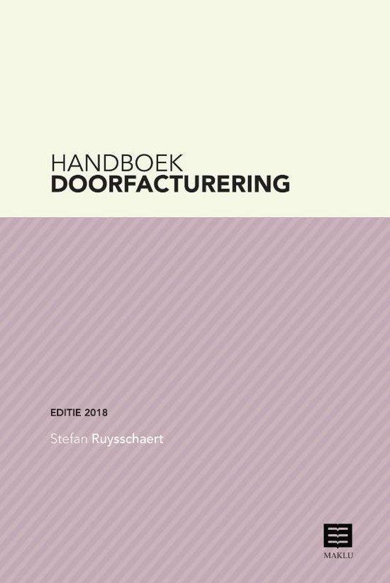 Handboek doorfacturering - Stefan Ruysschaert  