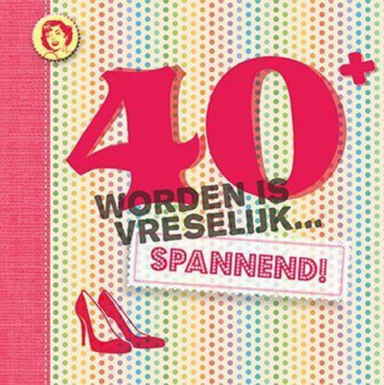 Leeftijdserie - 40 worden is vreselijk spannend! - Vitataal | Readingchampions.org.uk