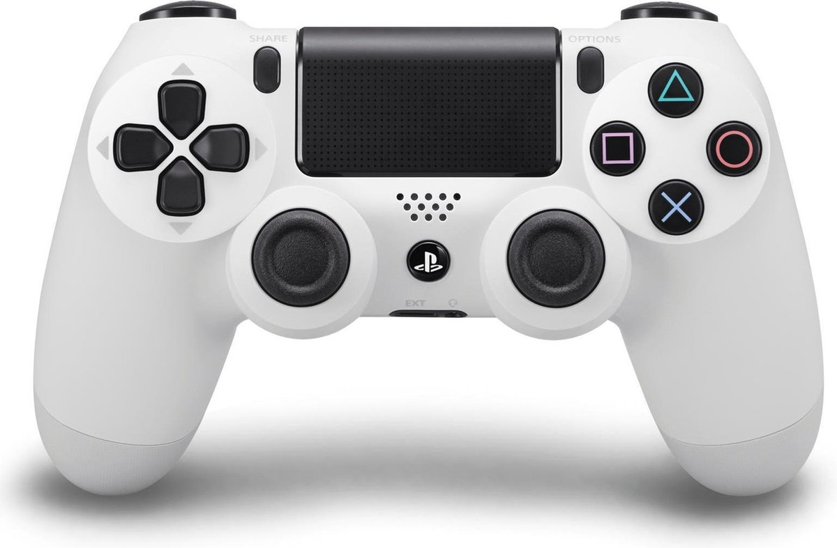 Sony Dual Shock 4 Controller V2 - PS4 - Wit