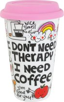 Blond Amsterdam Specials Coffee to Go Beker - Therapy - 250 ml - Porselein