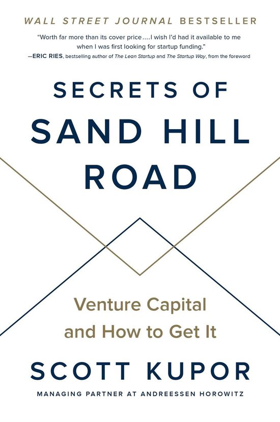 Boek cover Secrets of Sand Hill Road van Scott Kupor (Hardcover)