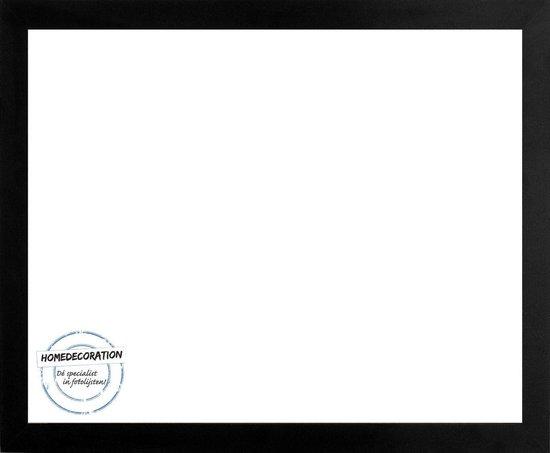 Homedecoration Misano – Fotolijst – Fotomaat – 31 x 65 cm  – Zwart mat