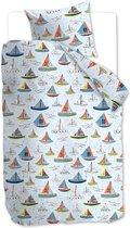Beddinghouse Kids Boaty - kinderdekbedovertrek - Eenpersoons - 140x200/220 cm - Blauw