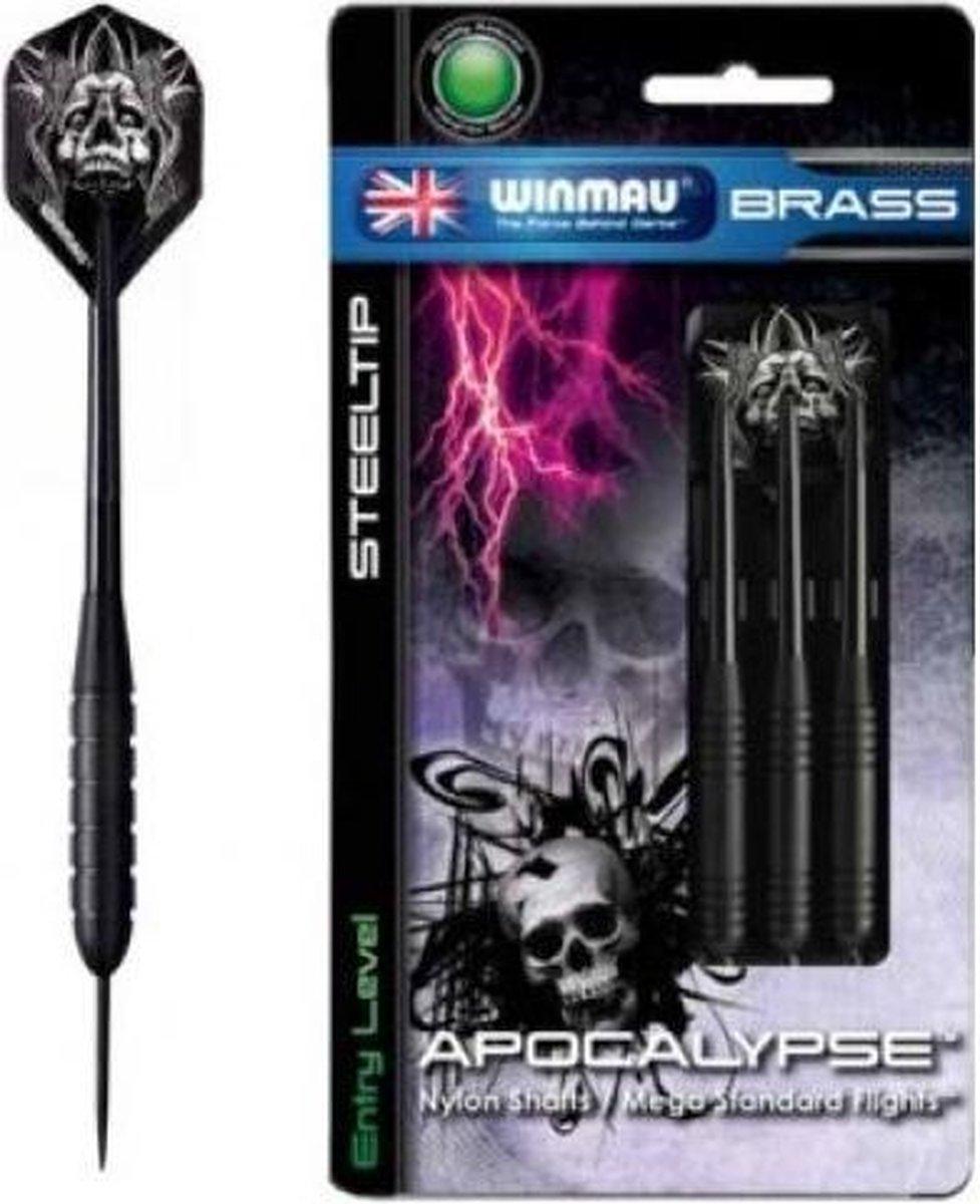 Darts Winmau Apocalypse 21 gr. Brass Zwart
