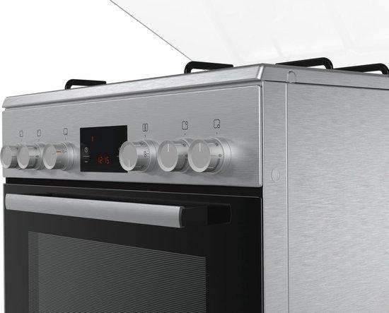 Bosch HGD445150N Serie 2 - Gas Fornuis - RVS