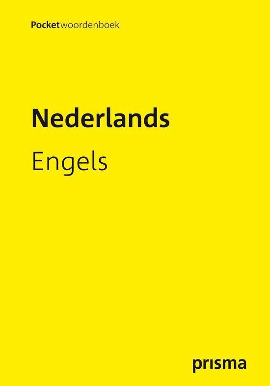 Boek cover Prisma pocketwoordenboek Nederlands-Engels van A. de Knegt (Paperback)