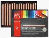 Caran d Ache 20 Luminance 6901 kleurpotloden