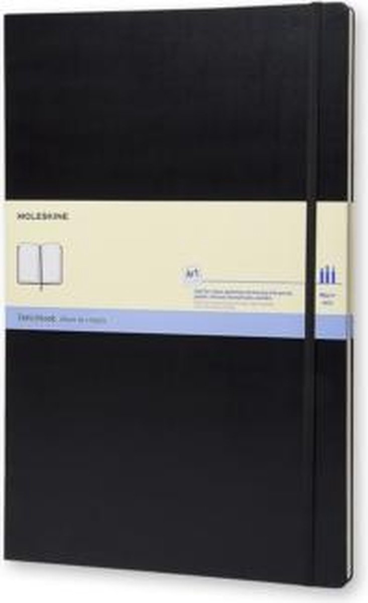 Moleskine Art Schetsboek A3 - Hard cover - Blanco - Zwart