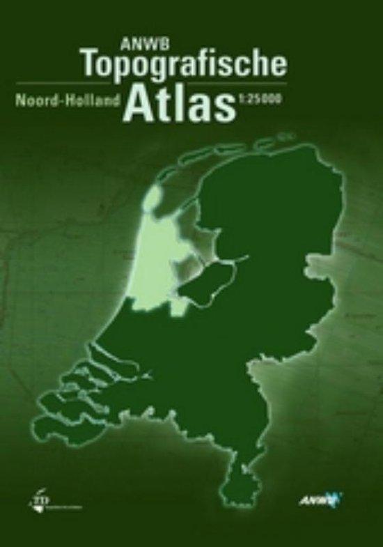Boek cover ANWB Topografische Atlas Noord- Holland van Onbekend