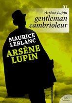 Omslag Arsène Lupin, Gentleman cambrioleur