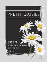 Pretty Daisies 2019 Weekly Planner On-The-Go