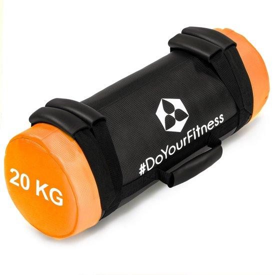 #DoYourFitness® - Core Bag / Gewicht Bag »Carolous« van 5 kg tot 30 kg - 2 handgrepen en 1 riem - Kracht / fitness bag voor kracht-, uithoudings-, gevechts- en coördinatietraining - 20kg