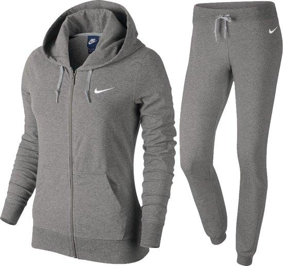 Recientemente tímido La risa  bol.com | Nike Trainingspak - Maat XL - Vrouwen - grijs
