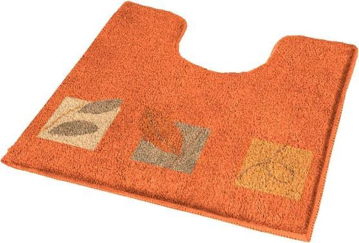 Toiletmat Idyll Oranje 55x50cm - Kleine Wolke