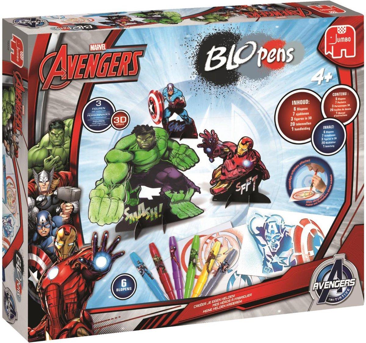 Blopens Avengers Workshop