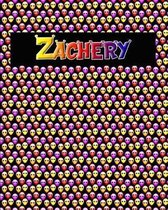 120 Page Handwriting Practice Book with Colorful Alien Cover Zachery